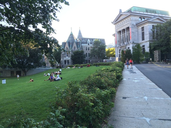 McGill campus